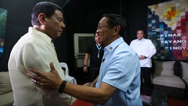 Binay Finally Concedes To Duterte