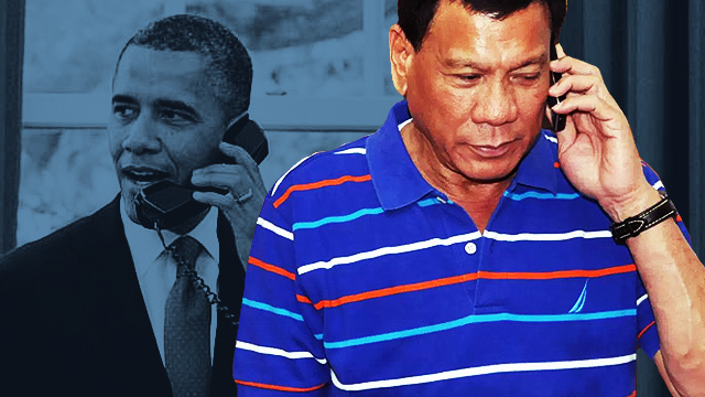 Duterte Interrupts Interview To Take A Call From Obama