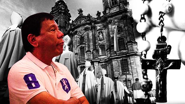 Duterte Slams Bishops Over Hypocrisy