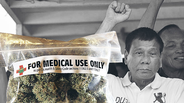 Duterte Will Allow Medical Marijuana