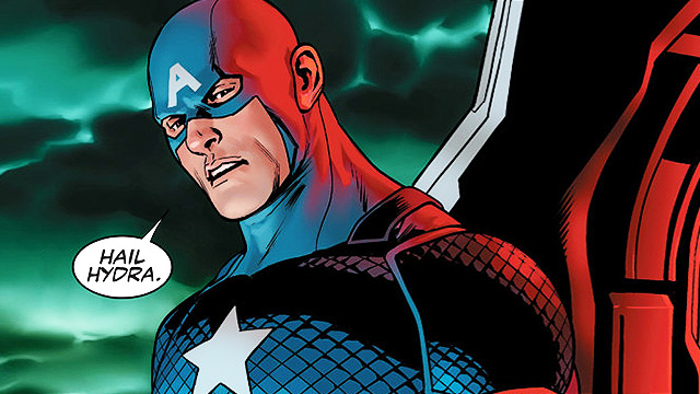 Marvel Comics Turns Captain America Into A Villain