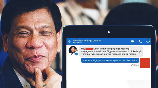 The Dear Digong App: President Duterte Is Ready To Solve Your Problems