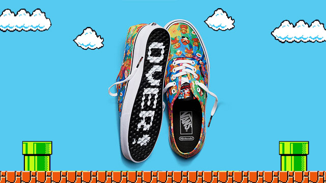 You've Got To Check Out This Vans X Nintendo Sneaker Collab
