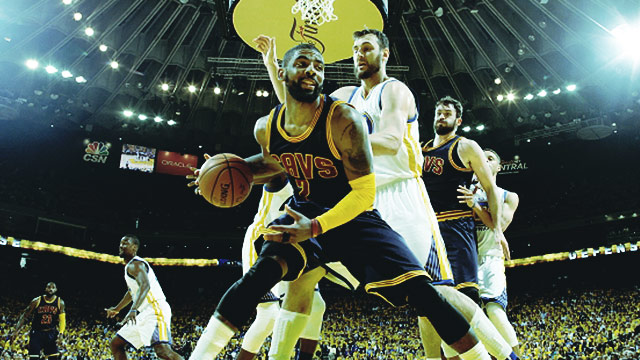 There, There: Cleveland Cavaliers' Consolation Plays From Game 1