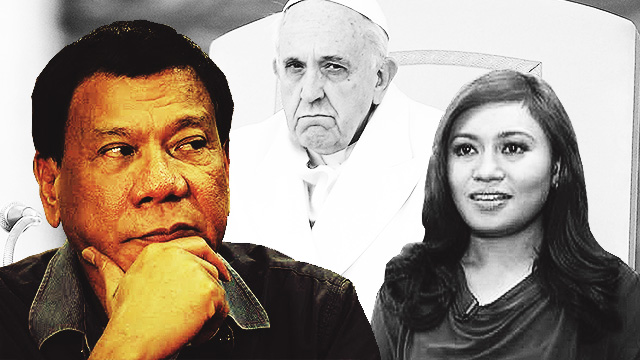 The 'Worst' Things Duterte Has Said So Far