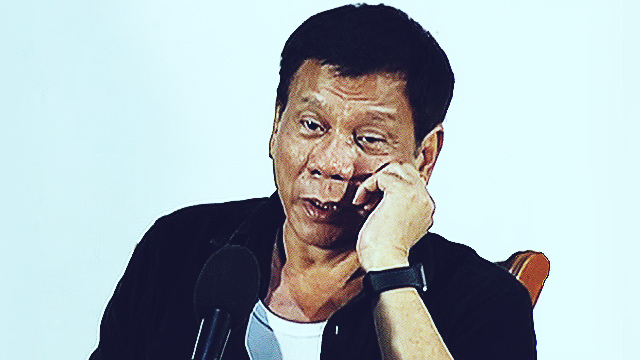 Duterte Doesn't Care If The Media Boycotts Him