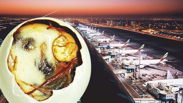 Dubai Customs Authorities Prohibit Entry Of Balut