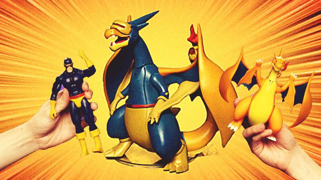 WATCH: The Pokémon And X-Men Toy Smash-Up