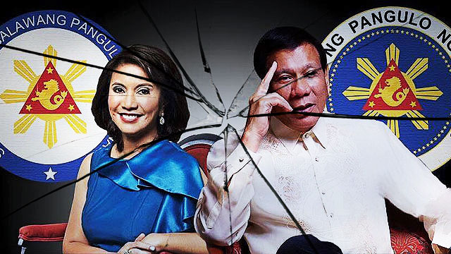 Duterte And Robredo's Rift Apparent With Separate Inaugurations