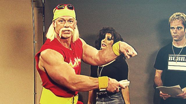 John Cena As Hulk Hogan Is Just Hilarious