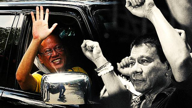 P-Noy Promises To Shut Up Once Duterte Takes Over
