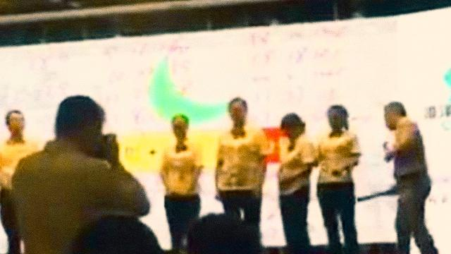 WATCH: Chinese Bank Employees Spanked On Stage