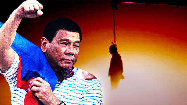 Duterte: Death Penalty To Avenge Victims, Not Deter Criminals
