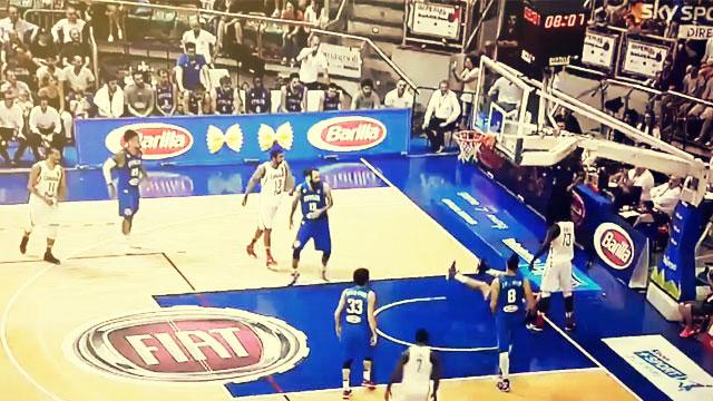 Anthony Bennett Bulldozes Italian Player For Poster Dunk