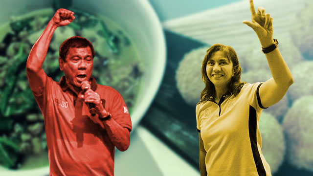 What's For Lunch? Duterte And Robredo's Inauguration Menus