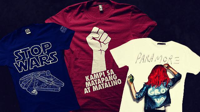 6 Best Pinoy Online Shops For Band And Fanboy Shirts