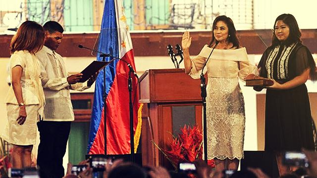 VP Leni Calls For Nation's  Healing, Unity During Inaugural Speech