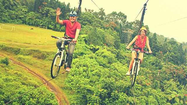 This Place In Davao Challenges You To Bike 60 Feet Up High In The Sky