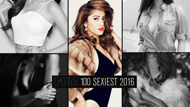 The #FHM100Sexiest2016's Top 5 Women