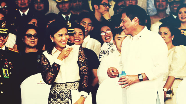 Leni, Digong All Smiles During First Meeting