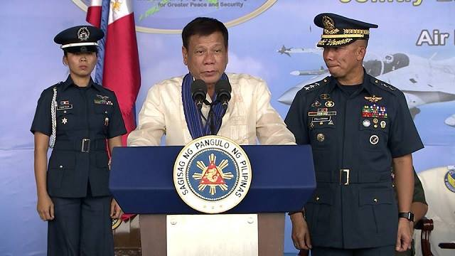 WATCH: Duterte Names 5 Generals Involved In Illegal Drug Trade