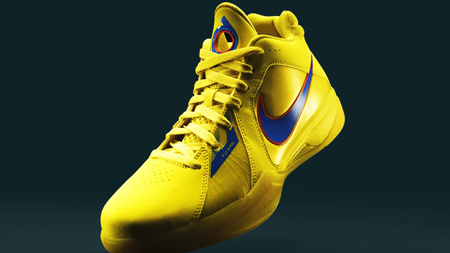 Kevin Durant's Signature Shoes In Golden State Colorways