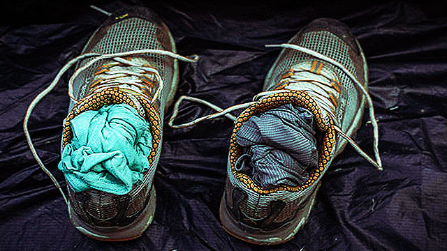 What To Do With Your Wet Shoes