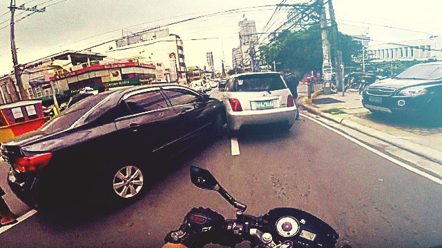 WATCH: Motorist Records 40 Violators In His Daily Ride