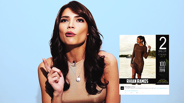 Rhian Tells Us The Secret Behind Her 100 Sexiest 5th Place Finish