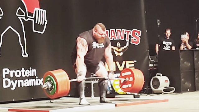 Deadlifting Record Attempt Nearly Kills Weighlifter