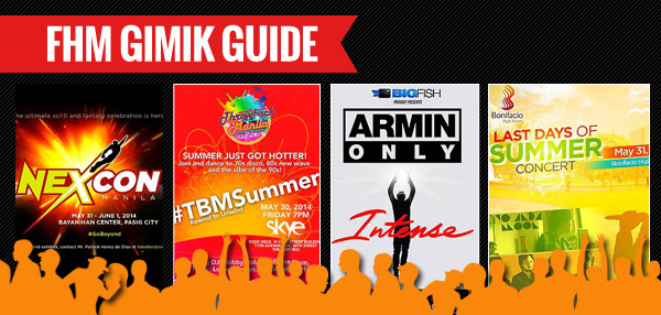 The FHM Gimik Guide: May 29, 2014