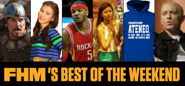 FHM's Best Of The Weekend: Eminem 'Comes Out Of The Closet,' The PNP's Most Wanted List, And That Not-So-Funny Ateneo Hoodie