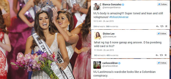 The 63rd Miss Universe Pageant, According To The Internet