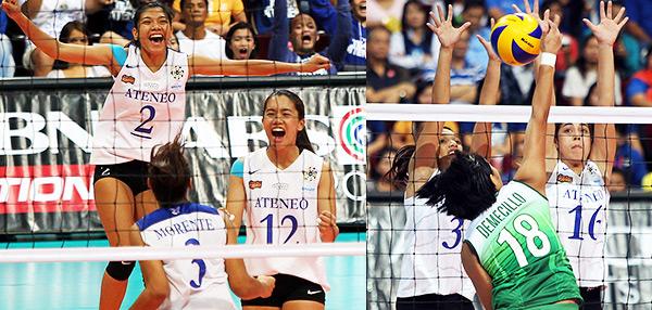 Ateneo-La Salle Women's Volleyball Thriller: Parang Finals Lang!