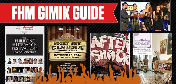 The FHM Gimik Guide: A Spooky Movie Marathon, A Bloody Fun Run And An Epic Chug Fest!