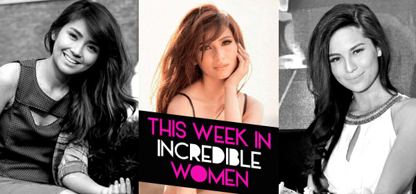 This Week In Incredible Women: Kathryn's Album Sells Like Hotcakes, Jasmine Says No To Sexy Pictorials, And Lovi Denies Being Engaged!