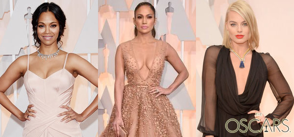 87TH ACADEMY AWARDS: And The Oscar For Best Cleavage Goes To...