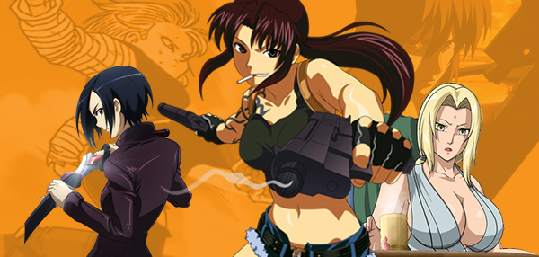 FHM Picks: 9 Kick-Ass Anime Babes We'd Want On Our Side When Evil Comes Knocking