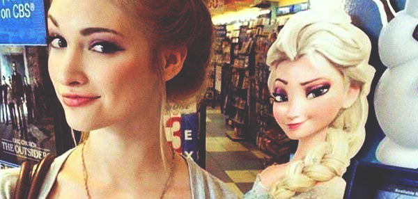 HOTTIE ALERT: The Real-Life Elsa From Frozen Will Melt Your Heart