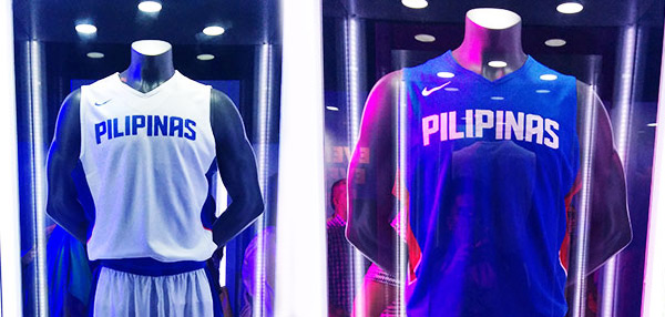 See Gilas Pilipinas' New Jerseys For The 2014 FIBA World Cup!