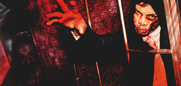 FHM Attempts To Survive The Walking Dead Haunted Prison!