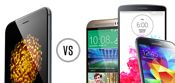 Hardware Battle: Apple iPhone 6 Vs. Android Superphones