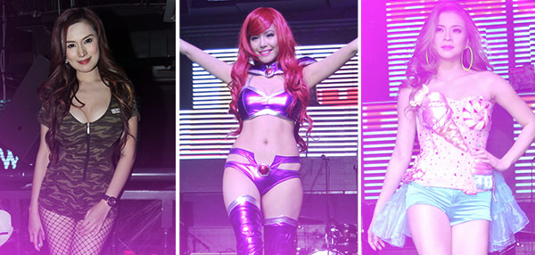 HOT! The Sexiest Babes In Costumes From The FHM Halloween Ball!