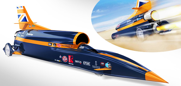Take A Look Inside The Rocket-Powered Car That's Expected To Be The Fastest Machine Ever!