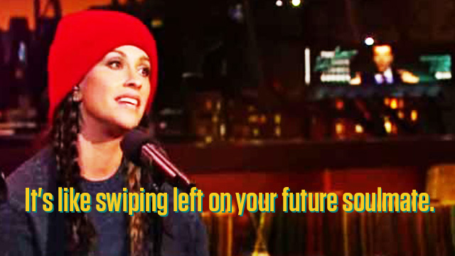 WATCH: Alanis Morissette Has Updated The Lyrics To 'Ironic' To Make It More 'Millennial-Friendly'