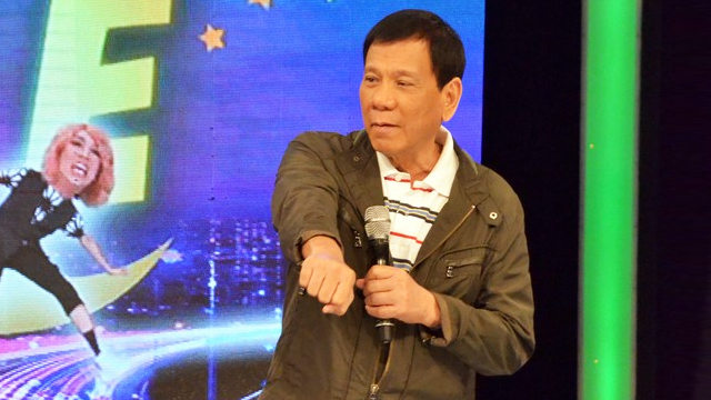 The Best Moments From Mayor Duterte's Guesting In Gandang Gabi Vice