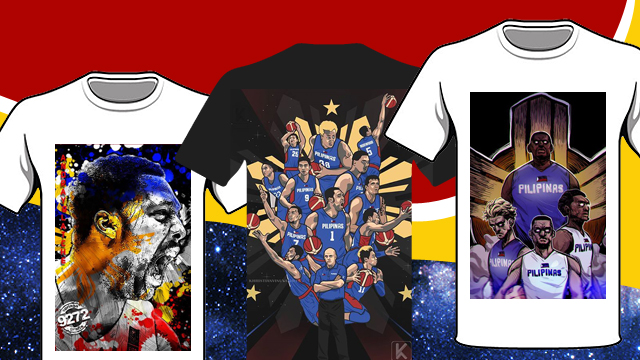 Calling All Clothing Brands: We Want These Gilas Pilipinas Artworks Printed On Shirts!