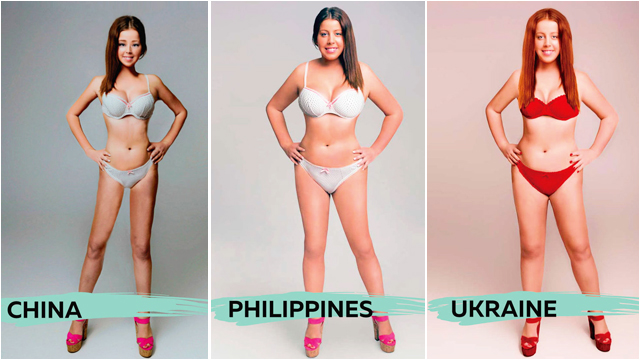 LOOK: What The 'Ideal Woman's Body' Looks Like In 18 Countries