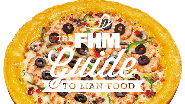 The FHM Guide To Man Food: The Mr. Pizza Experience
