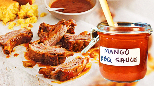 FHM's Weekend Cooking Challenge: Baby Back Ribs With Mango Barbecue Sauce